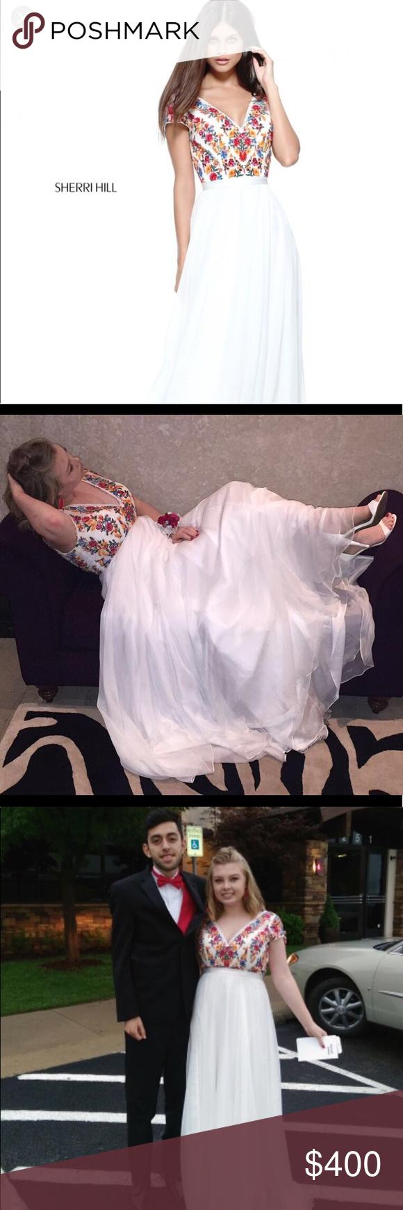 Sherri hill prom dress sherri hill prom dresses sherri hill white
