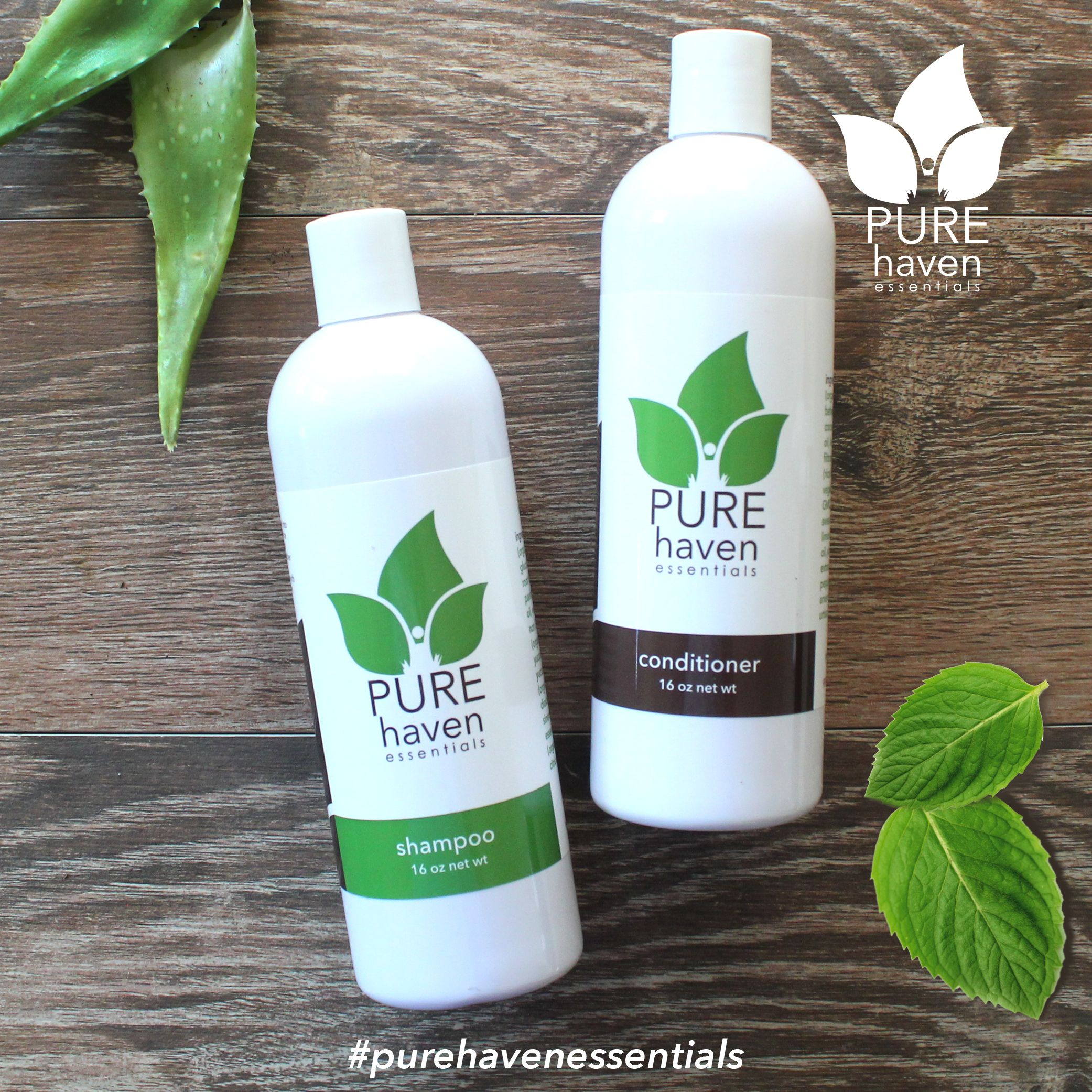 Shampoo And Conditioner Pure Haven Essentials Order Yours Here
