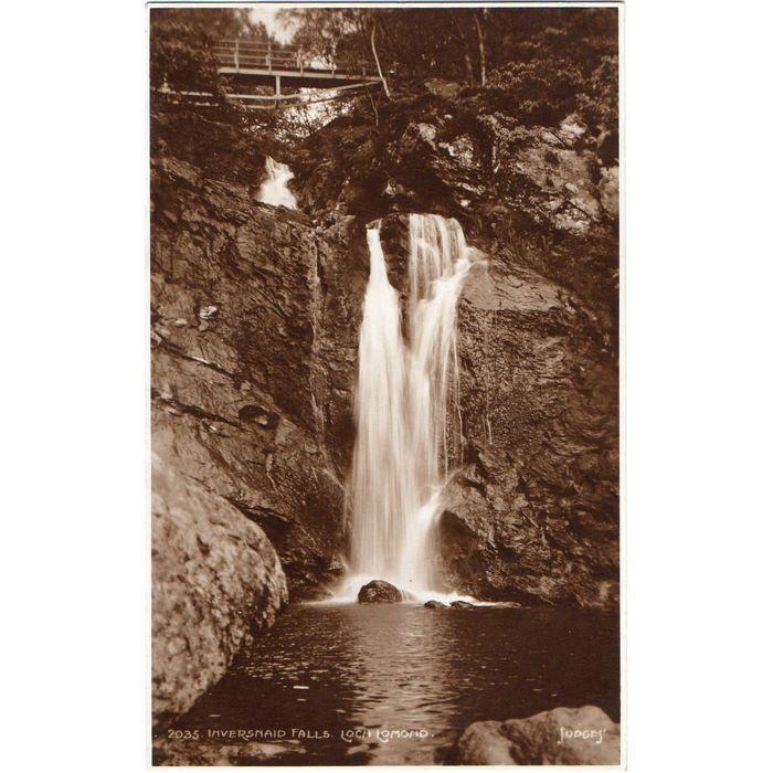 Judges Postcard Inversnaid Falls Loch Lomond on eBid United Kingdom | 174708921 #lochlomond