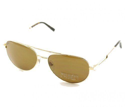 BVLGARI BV5022K 408283 Titanium Gold Plated Aviator Sunglasses 60mm Bulgari.   549.00. AviateursAccessoires Du VêtementLunettes ... 5506a1bc219d