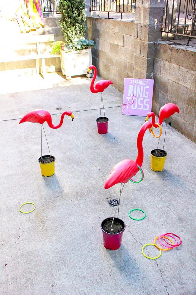 A Pineapple Flamingo Party Full Of Fun #tropicalbirthdayparty