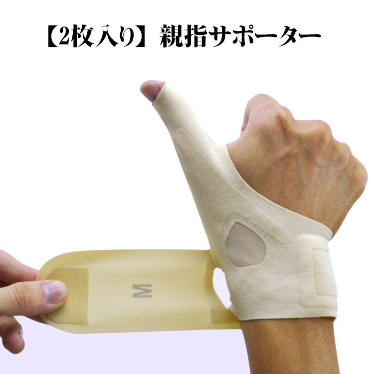 腱鞘炎 サポーター 親指
