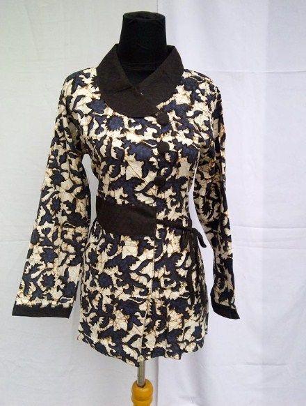 Model baju batik wanita untuk kerja kantor  Kubah Masjid