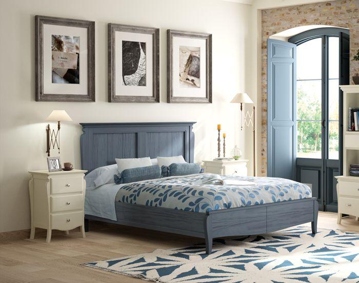 Original dormitorio de matrimonio para cama de 150 135 for Mostrar muebles