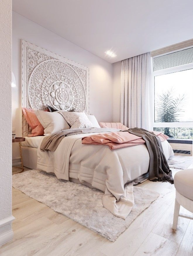 30 Lovely Pink Bedrooms Design Ideas