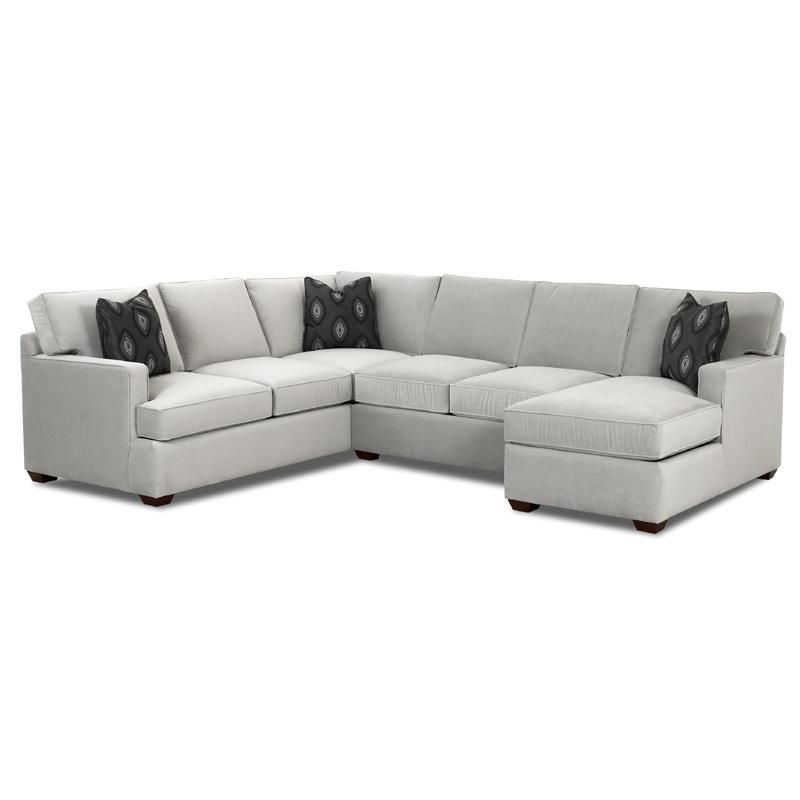 Hudson furniture Loomis Sectional Sofa Group with Chaise by