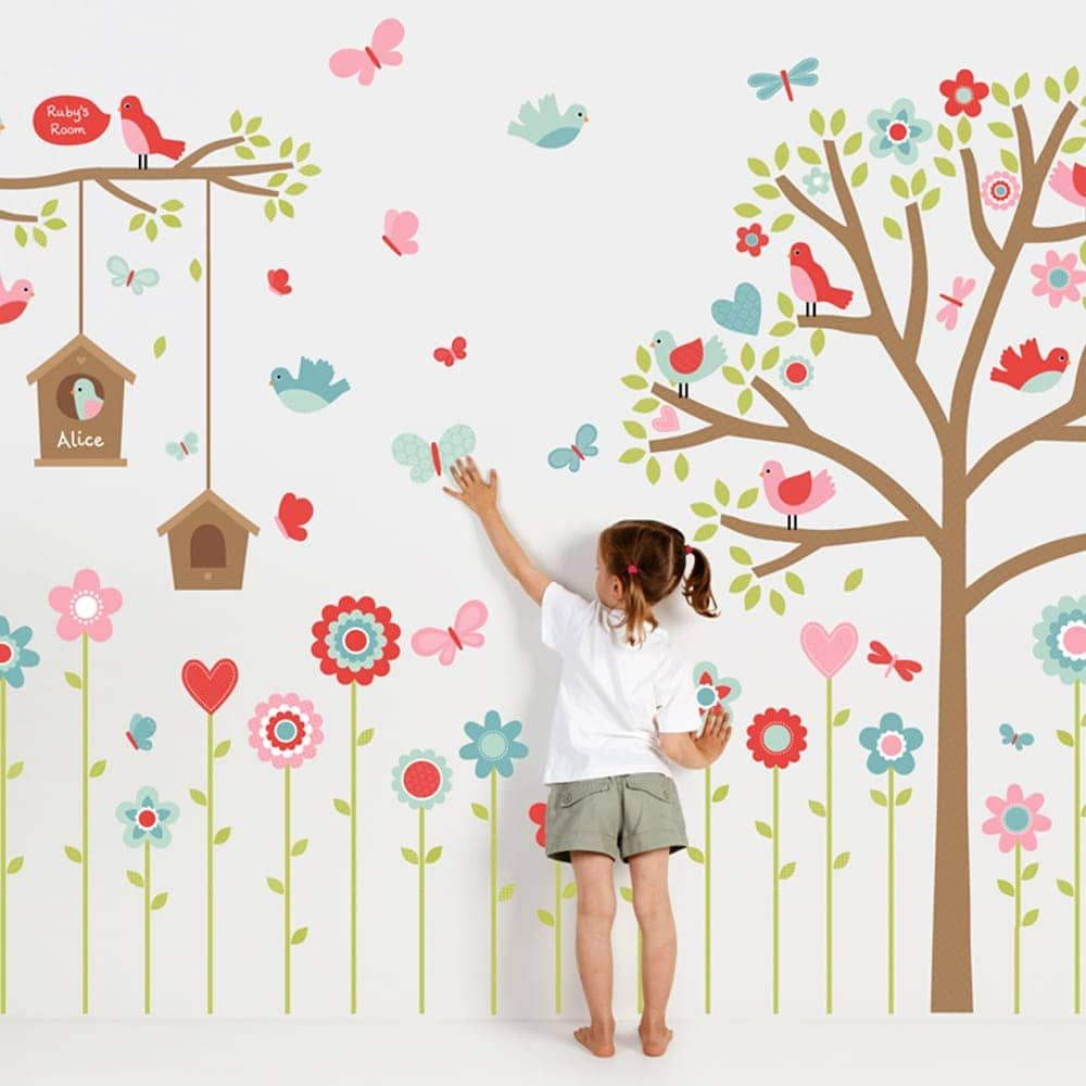 9 Budget Friendly Tips To Freshen Up Your Child S Accessories Share Your Tips Kids Room Wall Decals Kids Wall Decor Colorful Kids Room