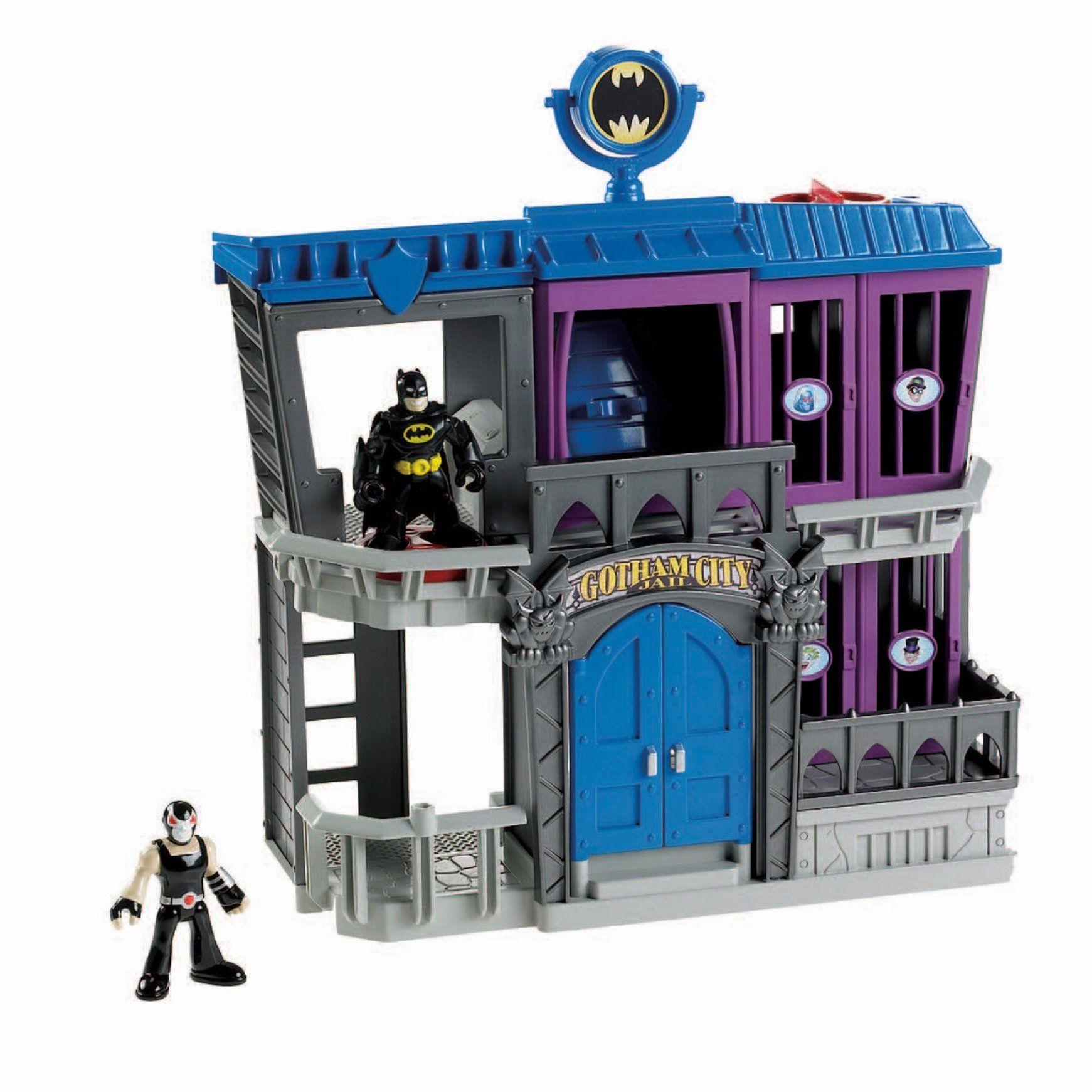 Fisher Price Imaginext DC Super Friends Gotham City Jail Playset