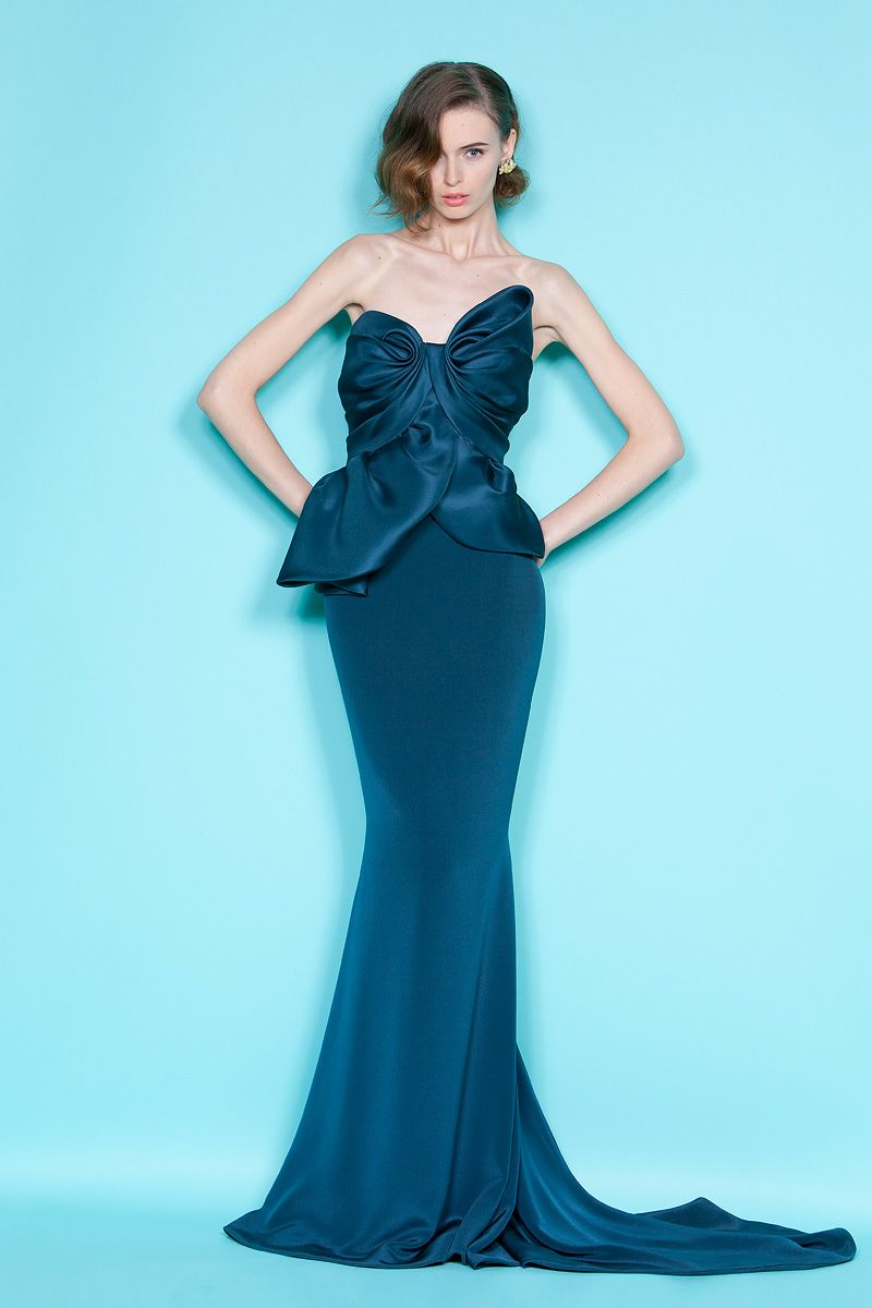 Marchesa- I feel this would be a cute bridesmaid dress. Dif styles ...