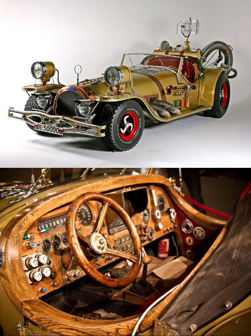 il Tempo Gigante real life replica of the car from a