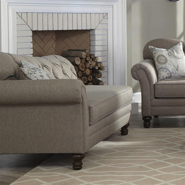 Coaster Furniture Carnahan Grey Chaise