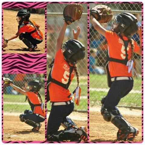 #PhotoGrid Brianna rocking it today! love these pictures #softball #catcher #softballlife #wewon #sports #girlsrock #tigers #majors