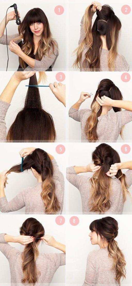 Petit tuto en image. Vous en pensez quoi ? Nous on adore ! Et pour un maximum de volume, nous vous conseillons d'utiliser un bump voluminateur. Le bump adéquat est disponible ici: http://www.remyhair.fr/bump-volumateur/817-bump-volumateur-avec-barrette-pour-cheveux-vendu-par-lot-de-2-barrettes-donut-3700785506830.html