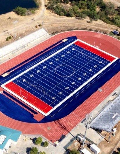 Folsom High School Campus Map.Folsom High School Football Field Your Community Pinterest