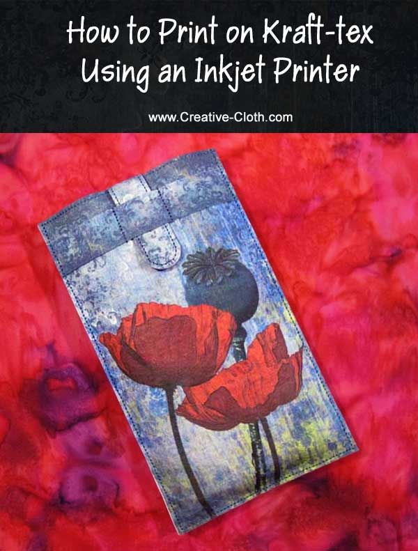 How to Print on Kraft-tex using an Inkjet Printer | Sewing Tools