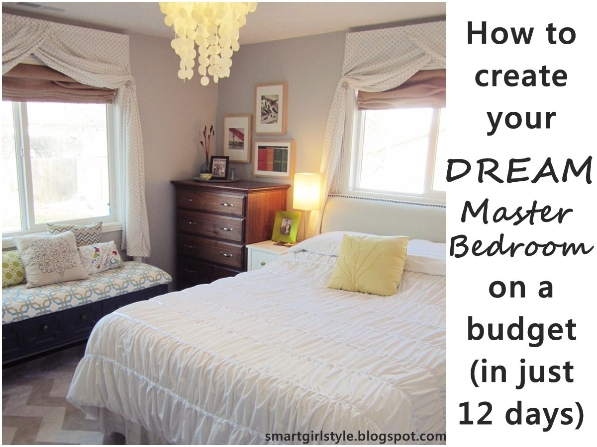 Master bedroom makeover on a budget design ideas 2017 - Master bedroom decorating ideas on a budget ...
