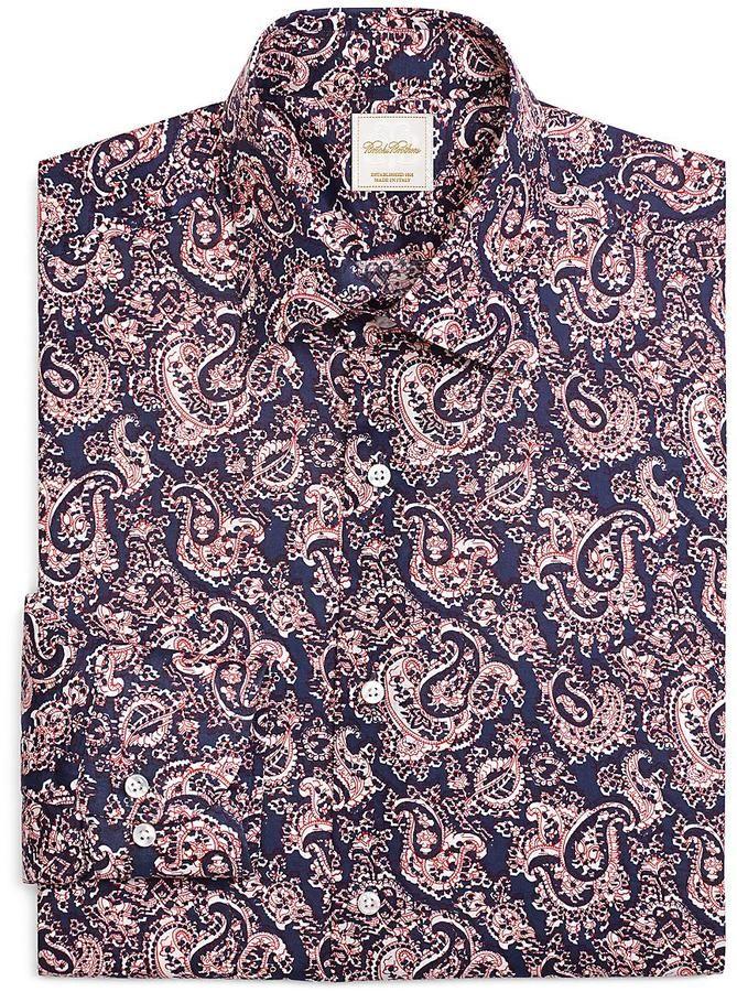 Paisley Print Luxury Dress Shirt
