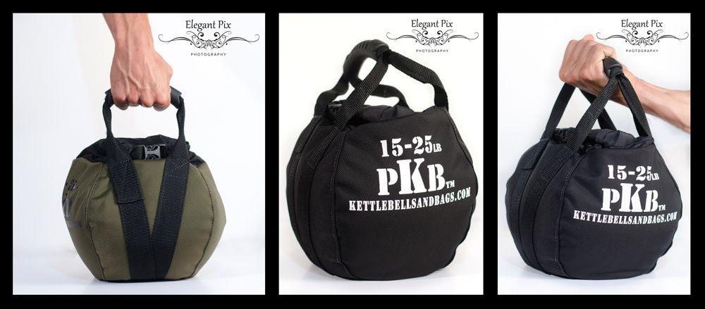Travel LG PKB PORTABLE KETTLEBELLS Crossfit The Original Sandbag Kettlebell