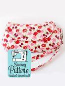 Image of Curvy Clutch PDF Sewing Pattern