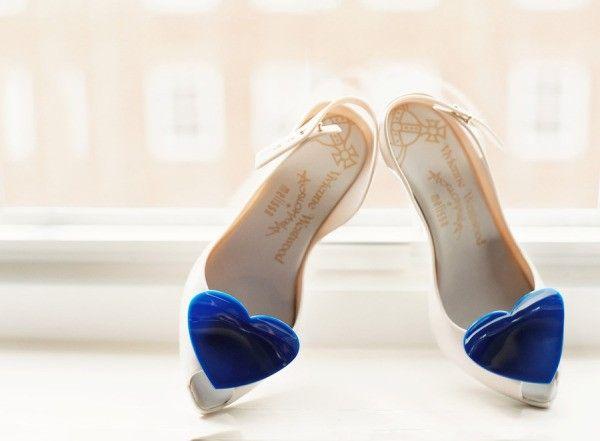 Modelo de Vivienne Westwood para Melissa Shoes. Foto Style Me Pretty