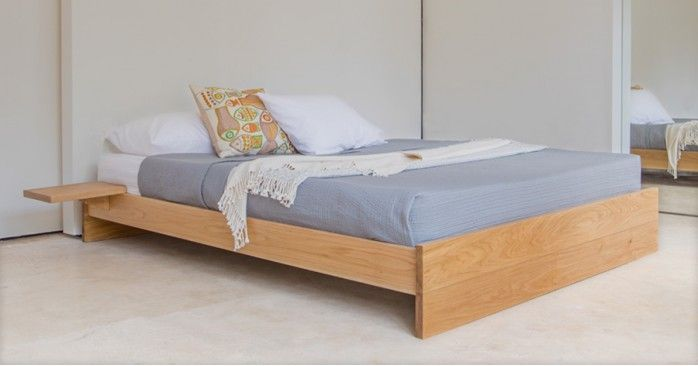 Enkel Bed No Headboard Wooden Bed Frames Platform Bed Wooden Bed
