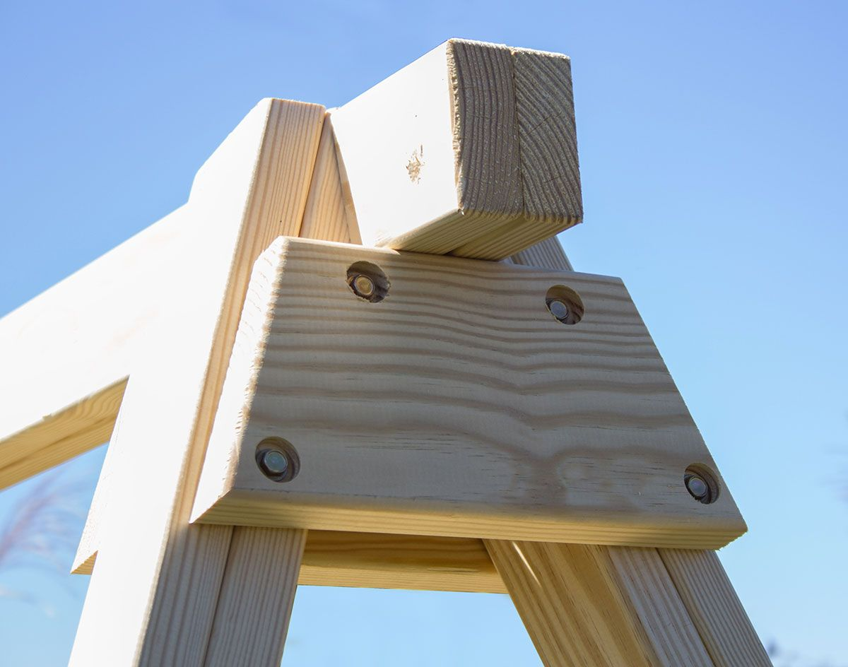 4 x 4 post treated pine swing stand 4 x 4 post treated pine swing stand   zahrada   pinterest   swings      rh   pinterest