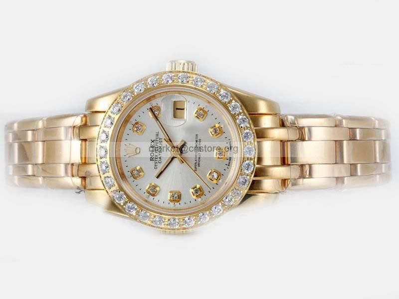 b82aa7fa26f773 #fake #Rolex #Masterpiece Full Gold #Diamond Bezel and Marking huge with a