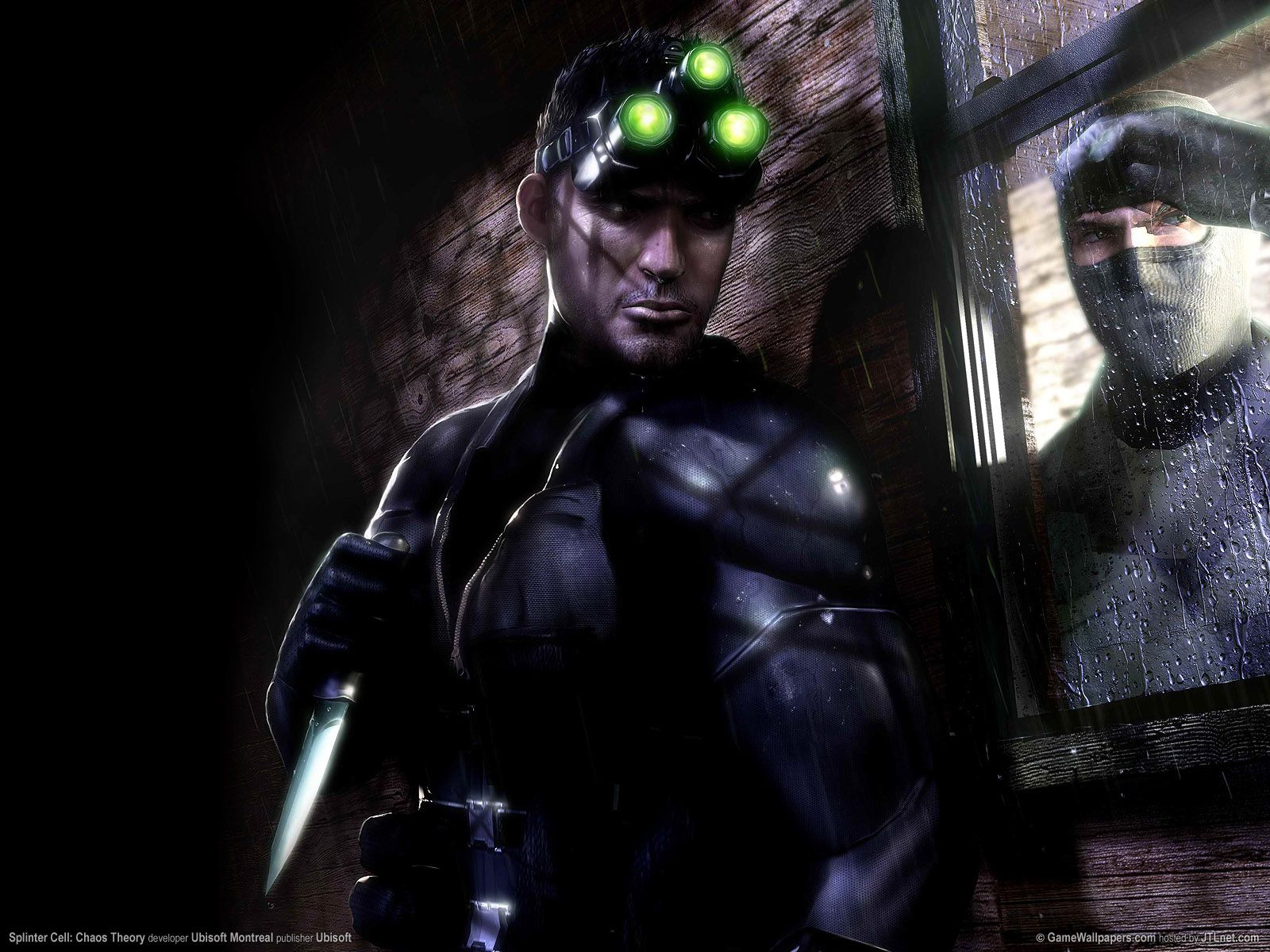 Splinter Cell Splinter Cell Chaos Theory 6 Wallpaper