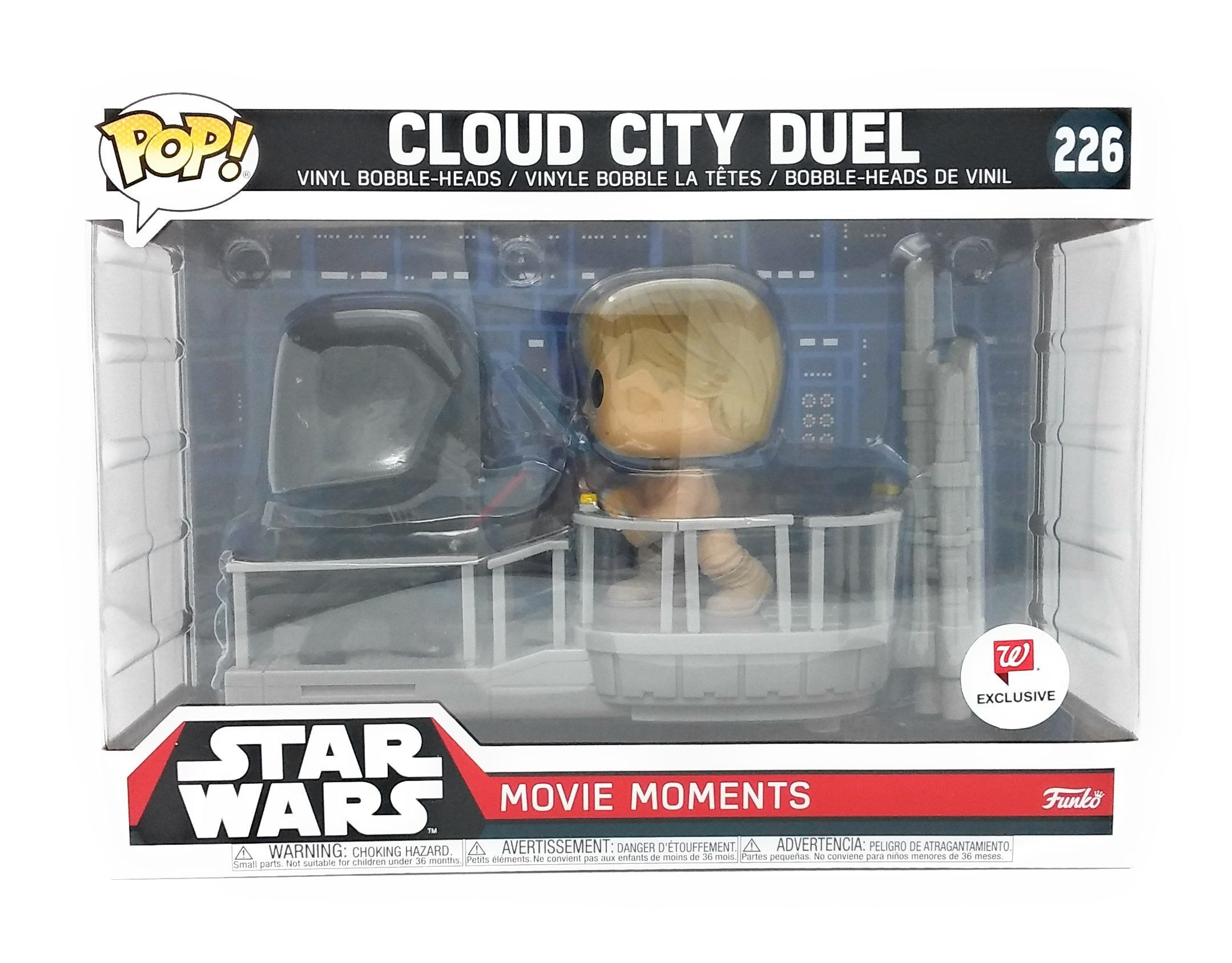 Funko Pop Star Wars Movie Moments Cloud City Duel 2 Pack Darth Vader Luke Skywalker New Funko Pop Movie Momen Star Wars Movie Cloud City Star Wars Figures