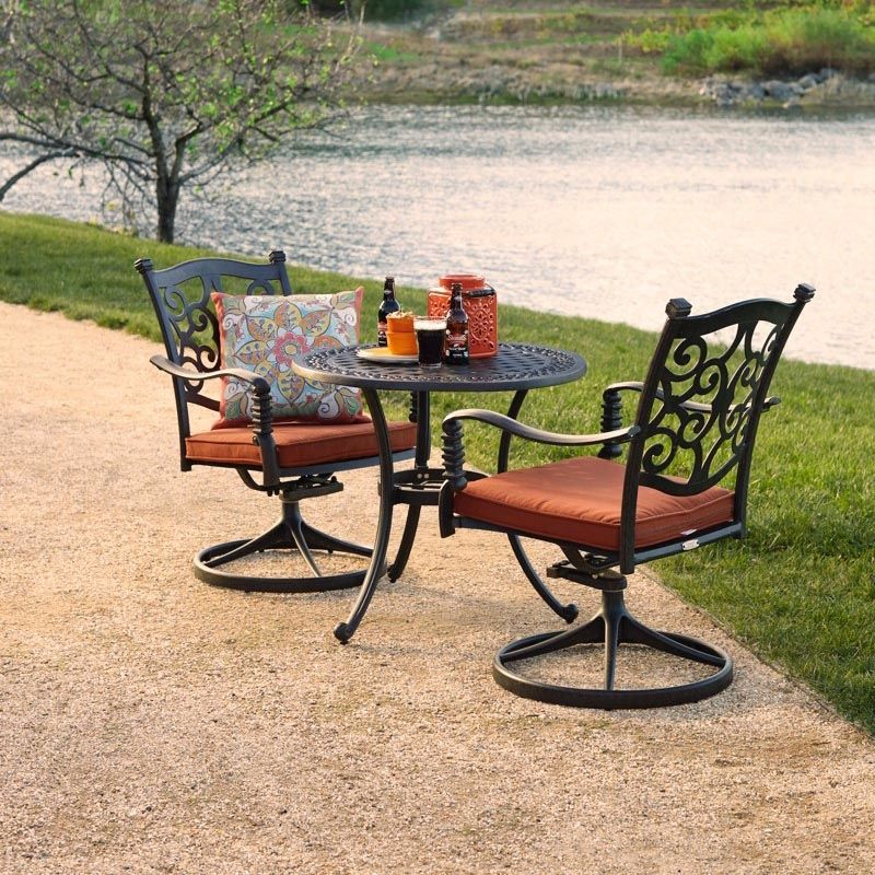 San Marco Swivel Chair 2 Pack Outdoor Furniture Sets Oval Table