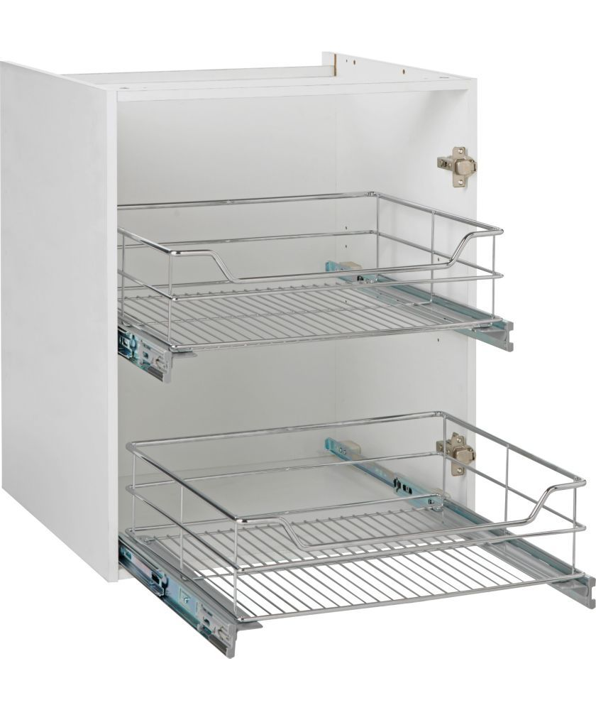 Kitchen drawer accessories uk - Buy Spencers Valencia 600mm Pull Out Basket Soft Close At Argos Co Uk Kitchen