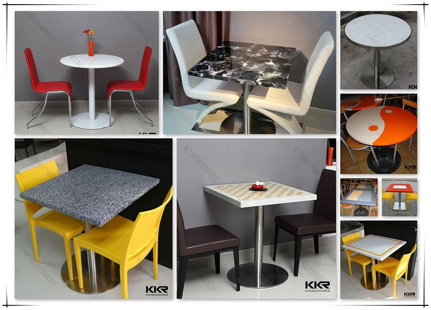 Cheap Acrylic Fast Food Used Tables And Chairs For Sale Cheap