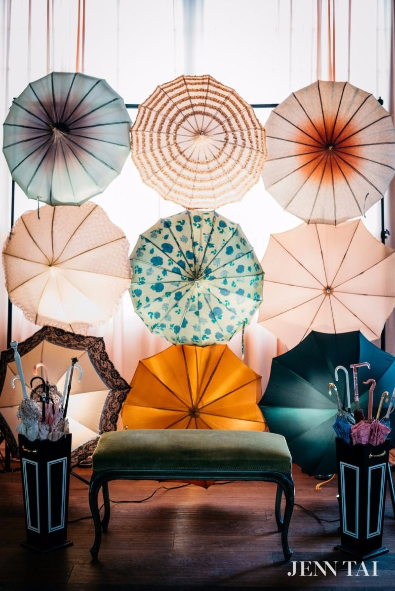 A Wall Of Vintage Umbrellas Instant Glamour Completely