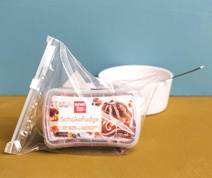 Friert Man Eis In Einer Geschlossenen Plastiktute Ein Ist Es