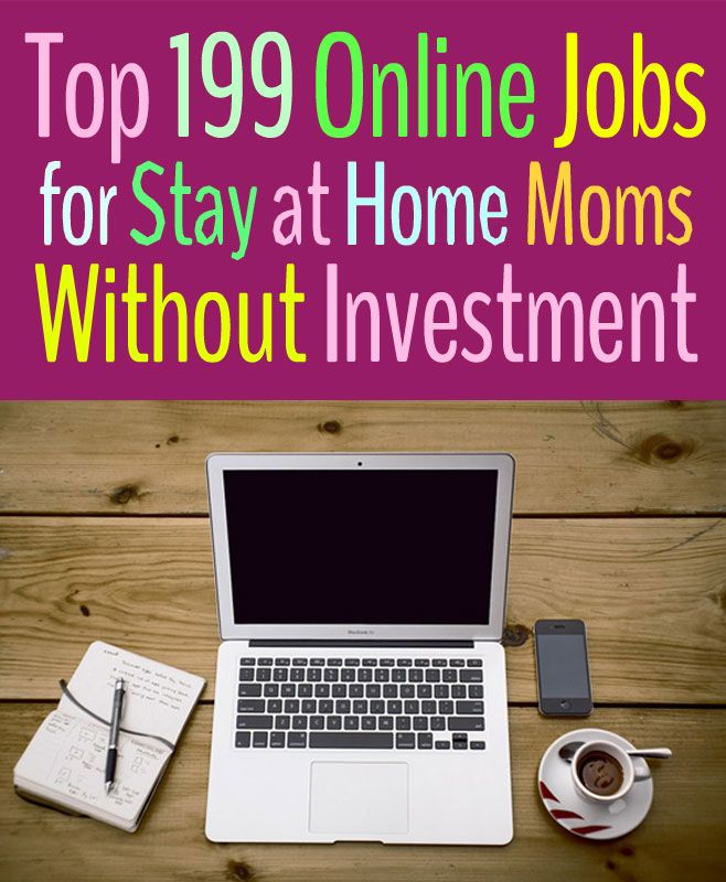 Best online jobs for moms