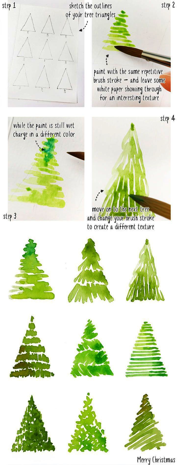 Christmas Tree Skirt Lazada Among Christmas Trees Dallas Over Christmas Songs Downl Watercolor Christmas Cards Christmas Tree Drawing Watercolor Christmas Tree