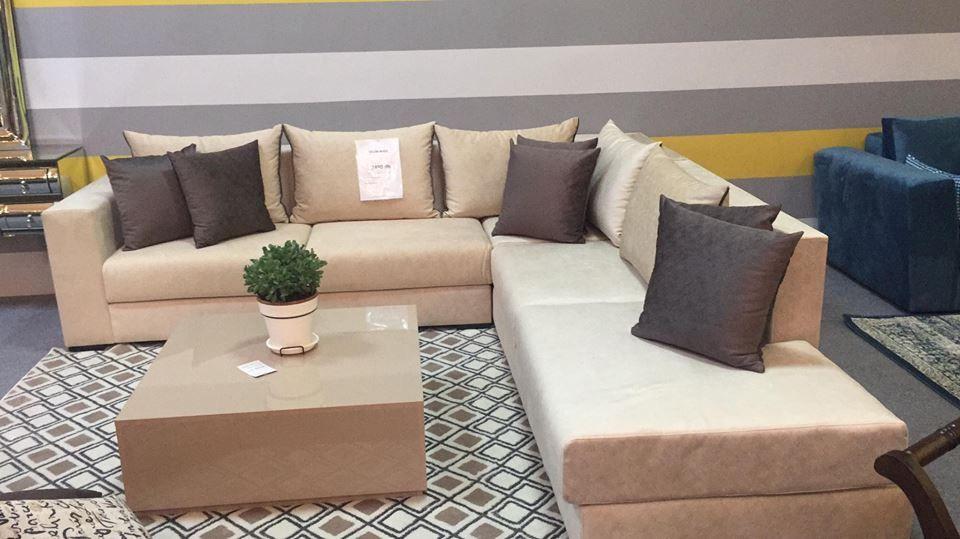 Salon moderne – salon moderne beige – canapé – Kaizen Deco ...