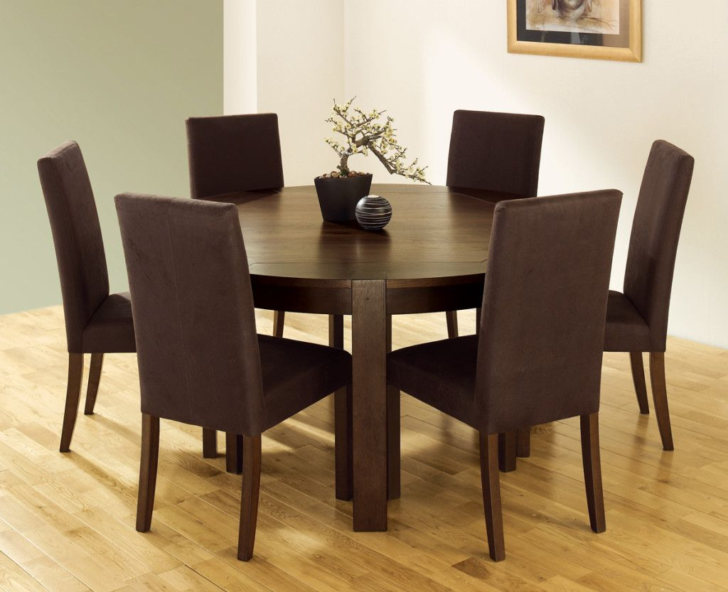 43++ Brown dining room table and chairs Best