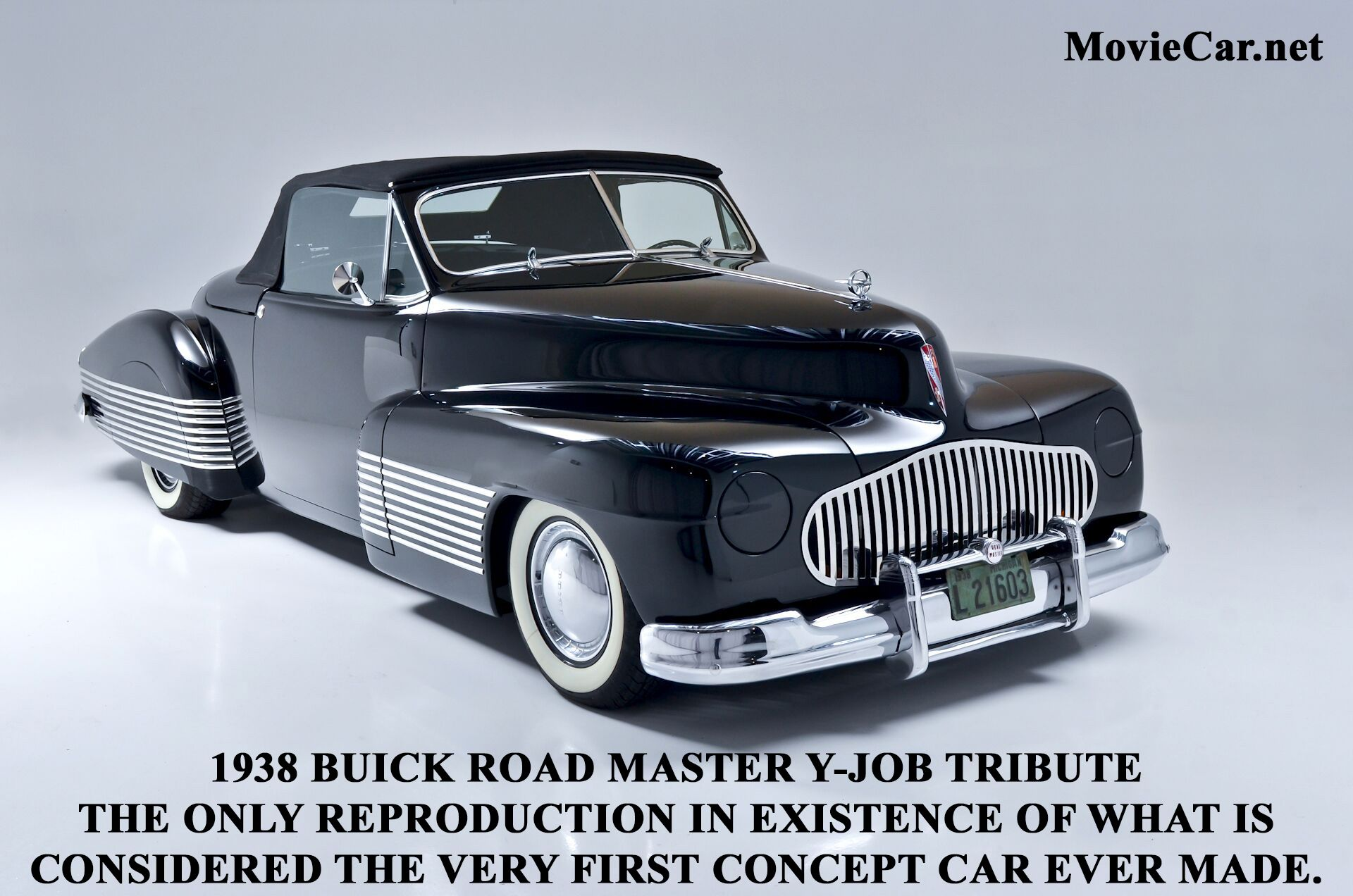 Often referred to as sculptural art - the Buick Road Master Y-Job ...