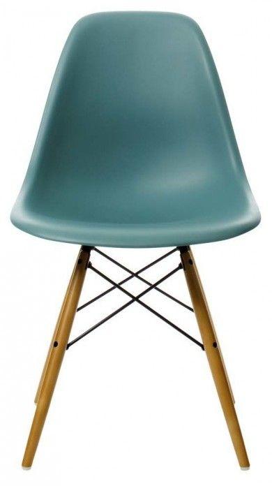 Chaise Eames Plastic Side Chair Dsw Avec Ou Sans Rembourrage Ces Coques Aux Lignes Organiques Presentent Un Co Chaise Design Fauteuil Design Scandinave Eames