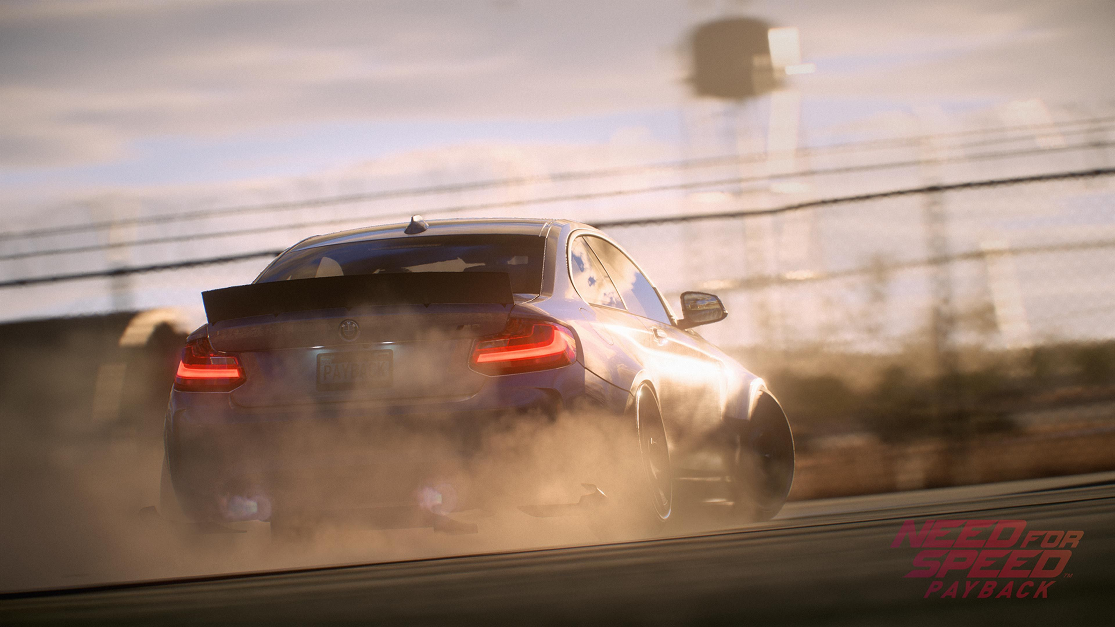 Need Speed Payback Bmw M3 4k Is An HD Desktop Wallpaper Posted In Our Free Image Collection Of Gaming Wallpapers