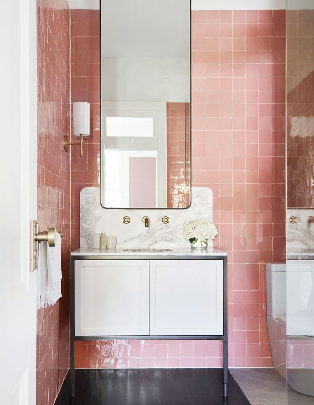 so you think you know the bathroom design rules? | • pink • | pinterest