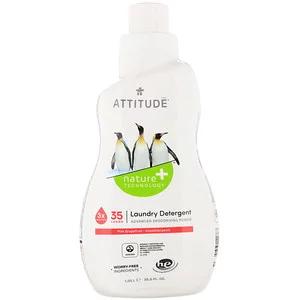 Attitude Laundry Detergent Pink Grapefruit 35 Loads 35 5 Fl Oz