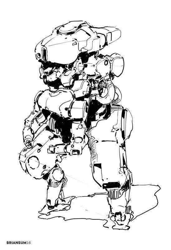 ArtStation - Sketches 10-12, Brian Sum