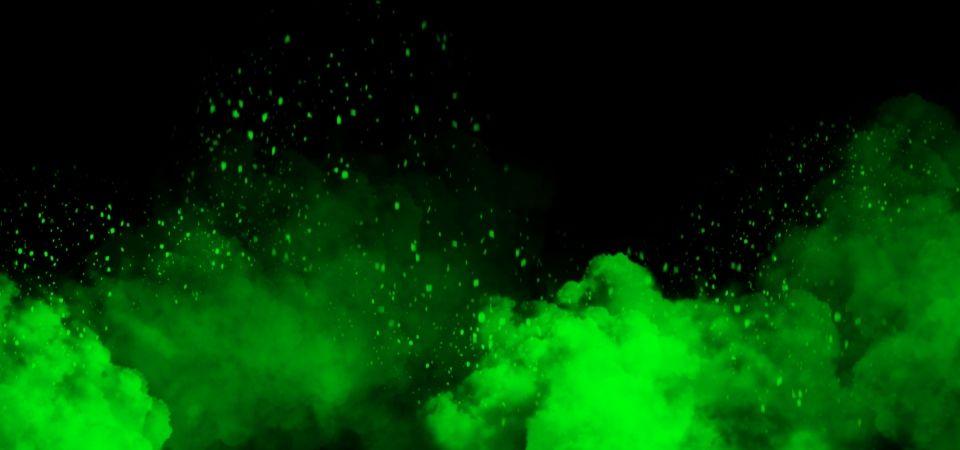 Fundo Preto E Verde Nuvens Dark Green Aesthetic Green Aesthetic Cool Backgrounds