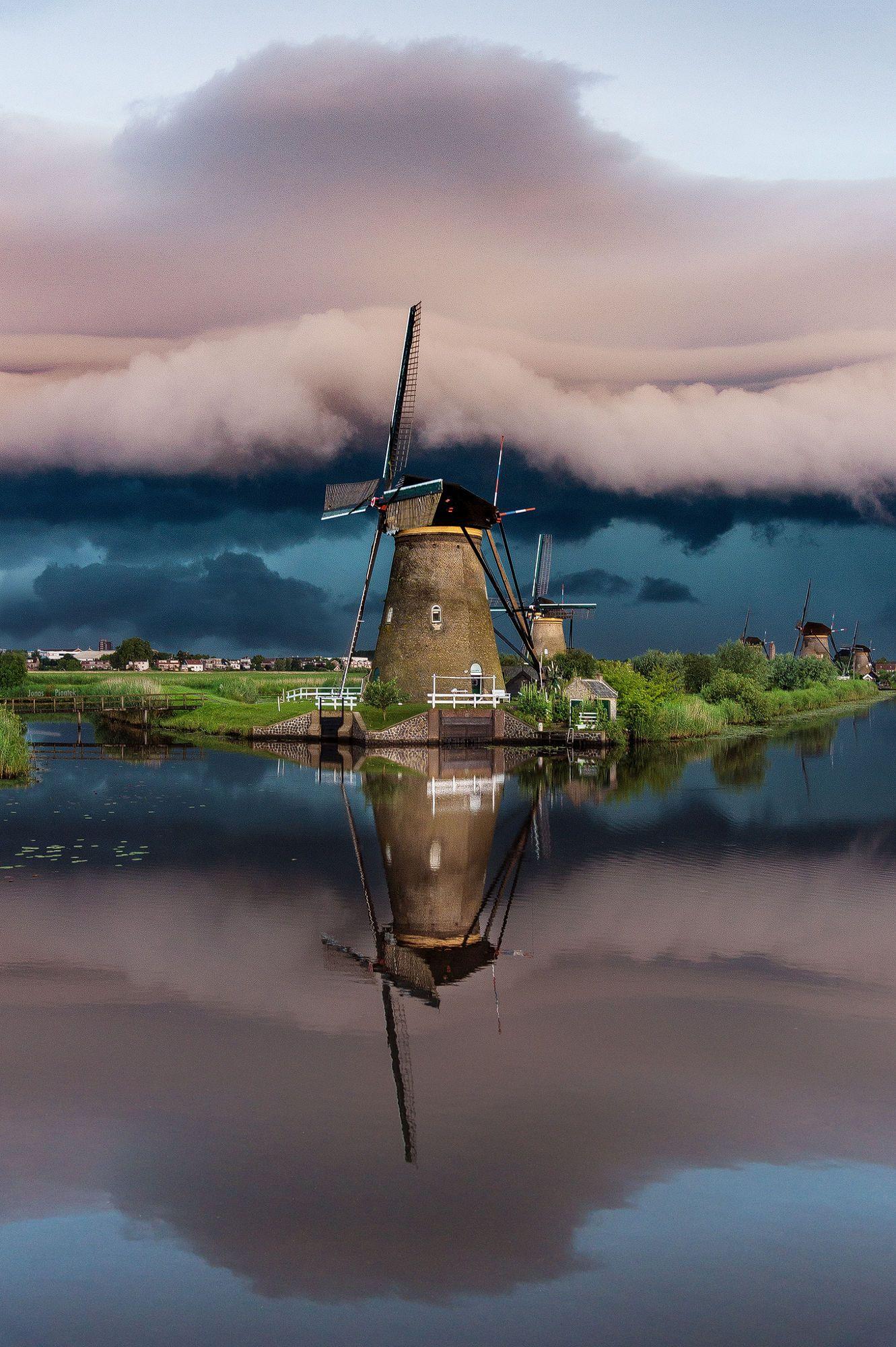 Windmills Kinderdijk Holland Windmuhle Holland Whatsapp