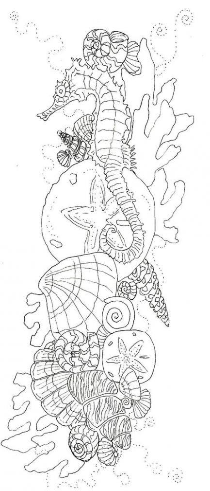57+  Ideas tattoo thigh ocean ideas