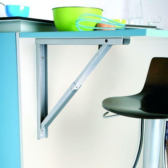 support de table rabattable aluminium sokleo. Black Bedroom Furniture Sets. Home Design Ideas