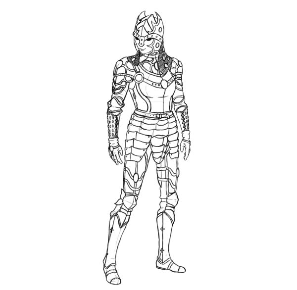 How to Design and Draw a Realistic Female Warrior ...