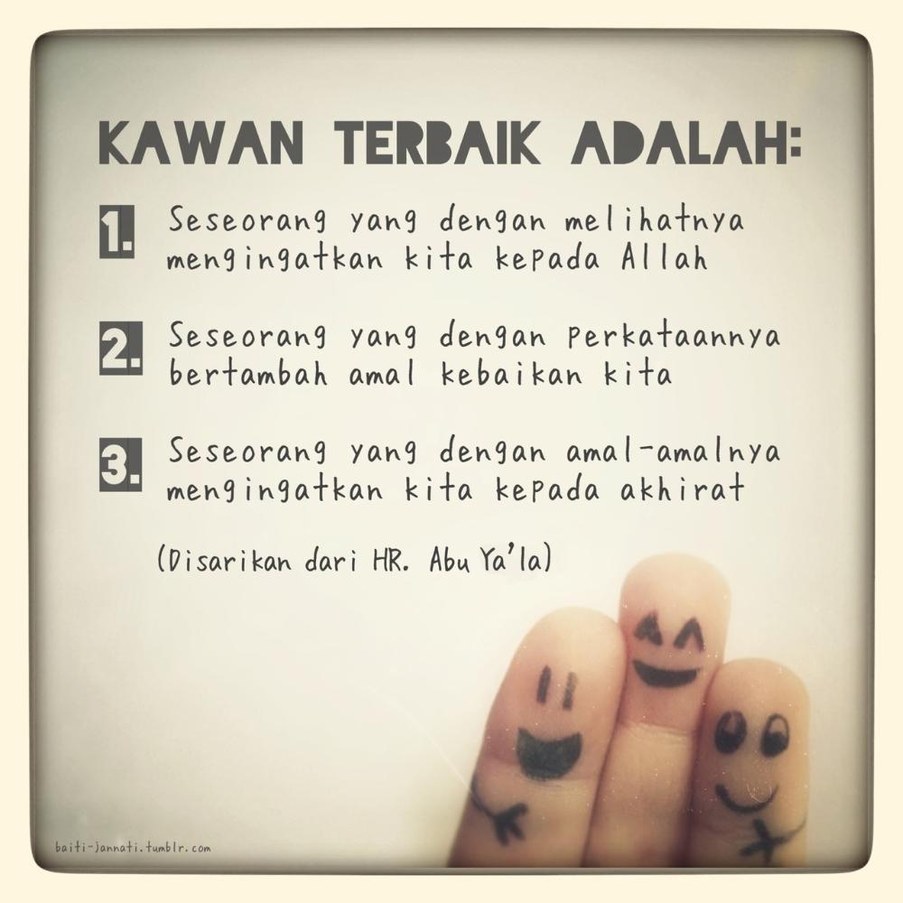 50 Gambar Kata Kata Mutiara Persahabatan Sejati Ayeeycom Kata Kata Mutiara Islamic Quotes Kata Kata Indah